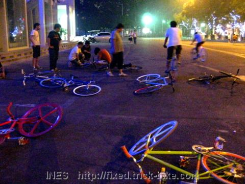 Beijing Fixed Gear Bike Hang Out