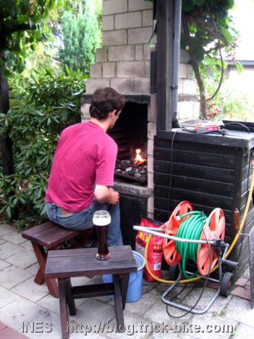 Preparing the Grill for the Barbecue