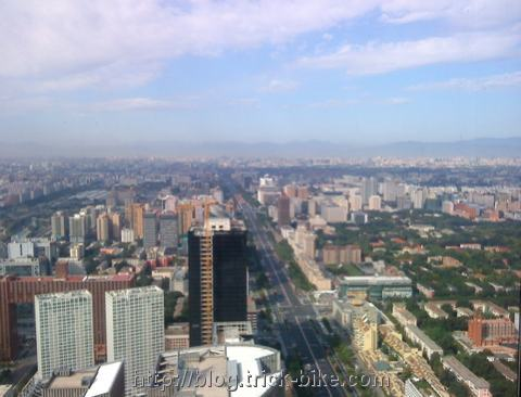 View of Beijing on Sunny Day