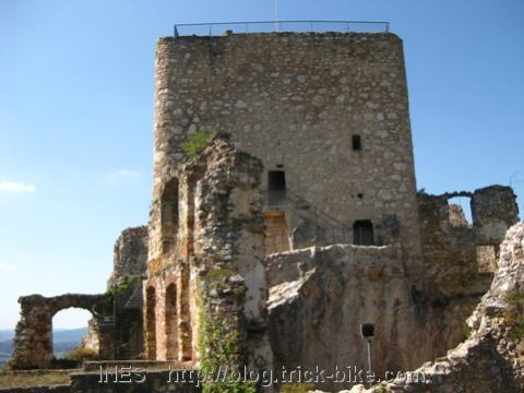 Ruine der Burg Landskron