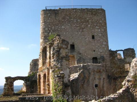 Ruine der Burg Landskron