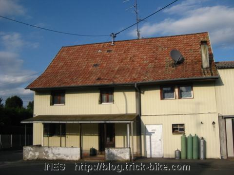 New House in Elsass