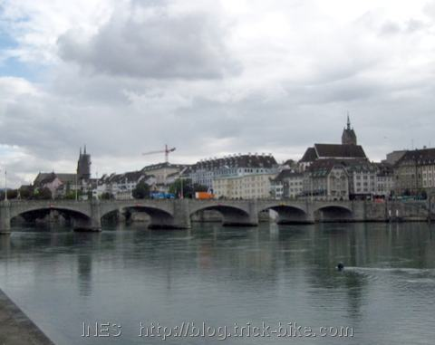 Rhine River in Basel