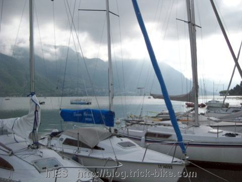 Sailing Boat Club on Lake of Annecy