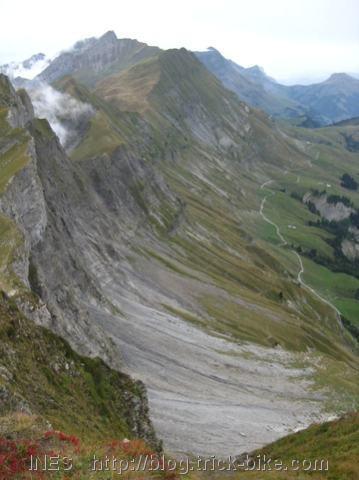 Mountain Ridge near Thone