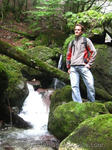 Chartreuse Mountain Small Waterfall