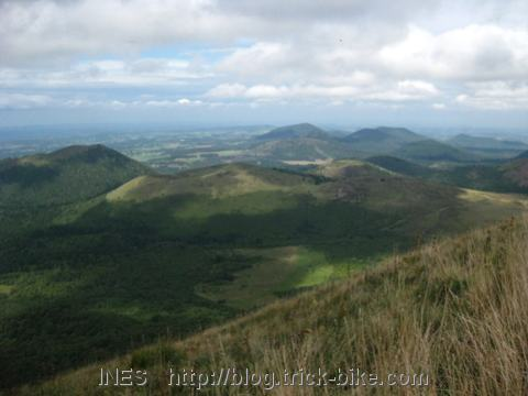 Volcanic Mountains in the Auvergne