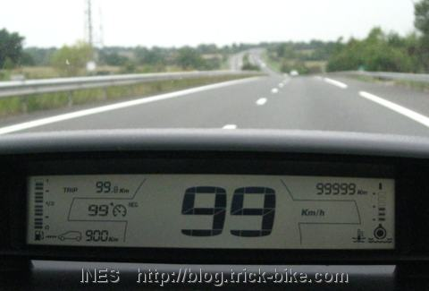 Car at 99999km