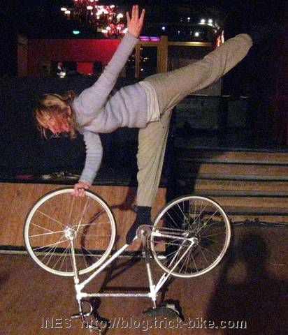 Static Trick Bike Performance