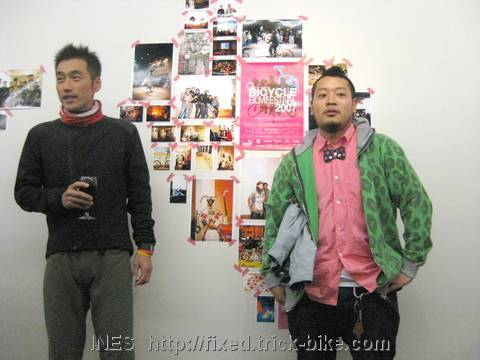 Tatsuya and Satoshi BFF Tokyo 2009