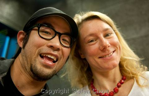 Stefen Chow and Ines