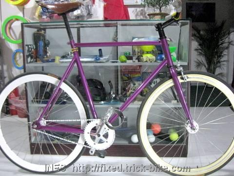 Jim's Fixed Gear Bike