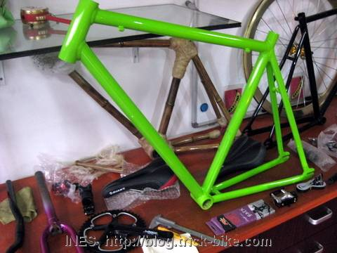 Julien's fixed gear bike frame