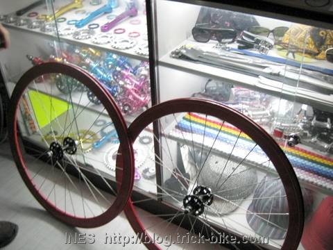 Julien's Fixed Gear Wheels