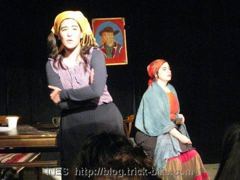 """Theatrical Triathlon short play called """"lovely country"""""""