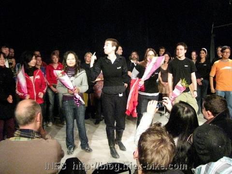 Anna Grace goodbye performance in Beijing