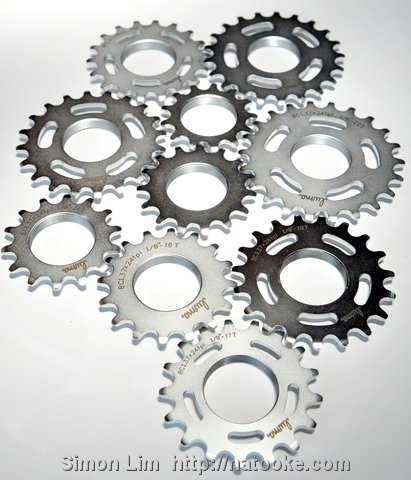 Taiwanese full CNC luma fixed gear cogs