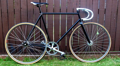 Russells Fixed Gear Bicycle