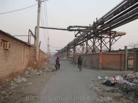 Cycling in Industrial Urban Environment