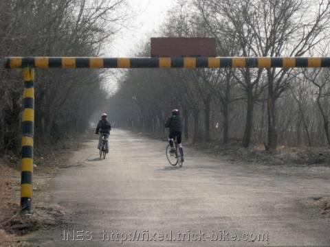 Bike Ride Along the Wenyu He