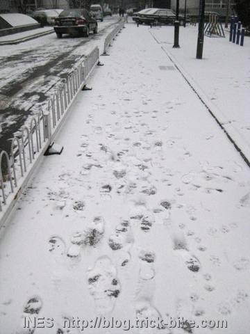 Beijing in White Snow