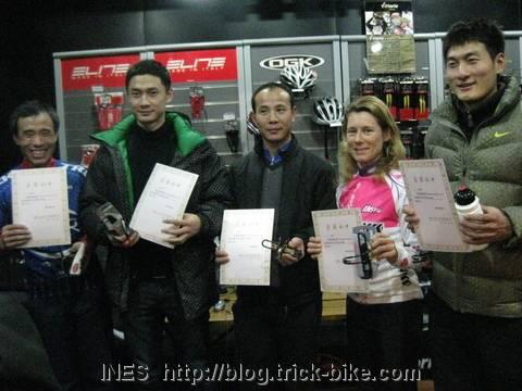 Shimano Bike Trainer Race Winners