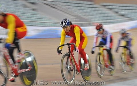 Chinese National Team Women's Keirin Race
