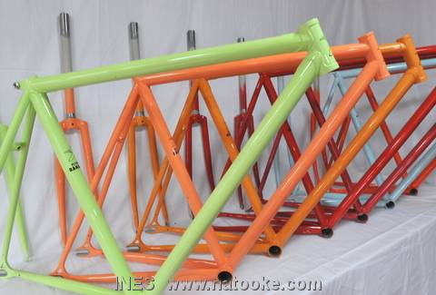 Flying Banana Fixed Gear Bike Frame