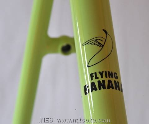Flying Banana Beautiful Steel Bike Frame