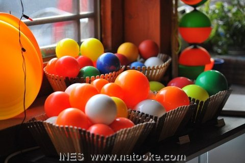 Italian Juggling Balls in Natooke