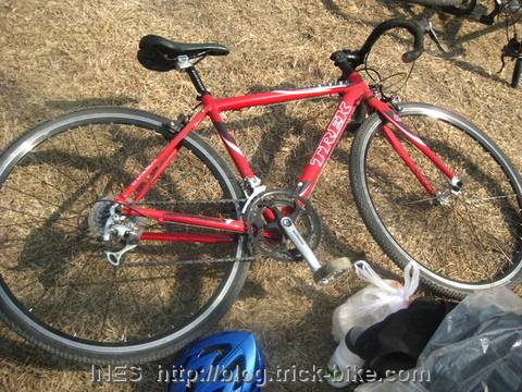 My TREK Cyclo Cross Bicycle