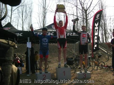 TREK Cyclo Cross A Ride Winners