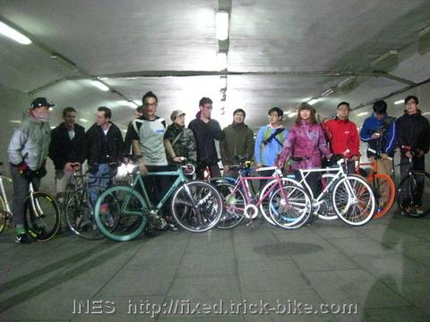 Beijing Fixed Gear Riders for World Expo 2010