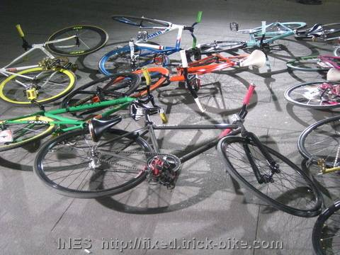 Beijing Fixed Gear Bicycles in the Spotlight