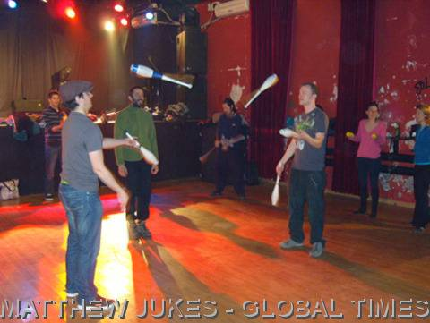 Beijing Jugglers Monday Workshop