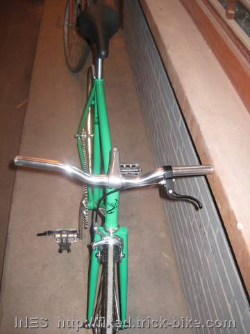 Front View of Max Fixed Gear Bicycle