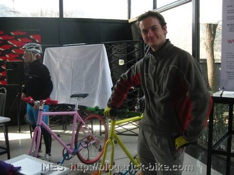 Bikes set up for JisuPK
