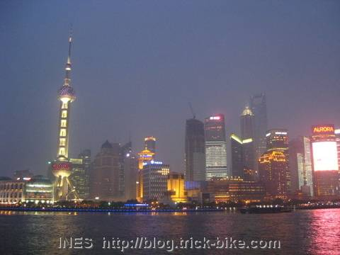 The Shanghai Bund at Dusk