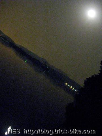 Full Moon and Reflection on West Lake
