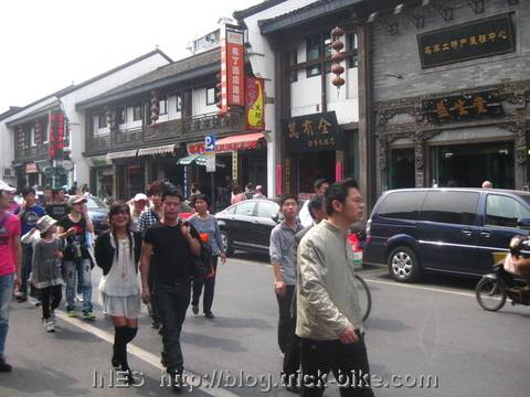 The Special Food Street of Hangzhou