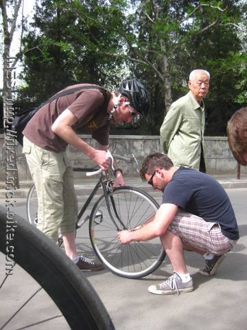 Second flat tire