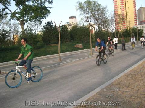 Beijing Fixed Gear Ride