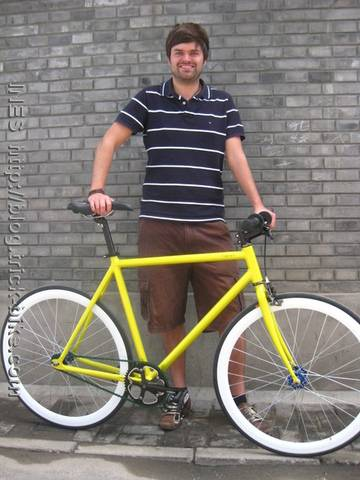 Urban fixed gear bike from Natooke