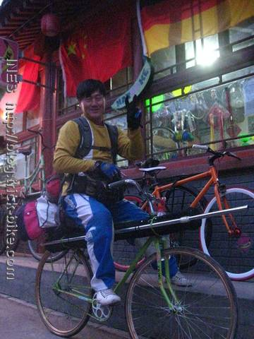 Chinese bike performer