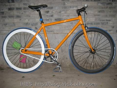 Julius' fixed gear bicycle