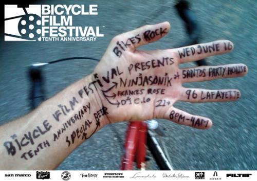BFF Bikes Rock Poster