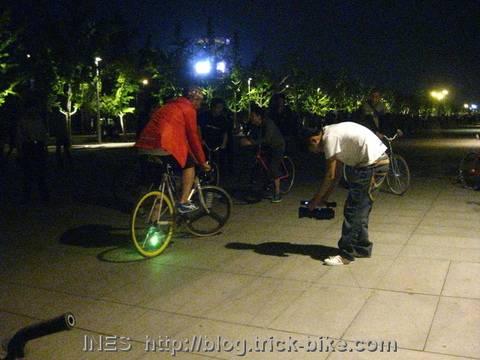 Filming Nie Zheng