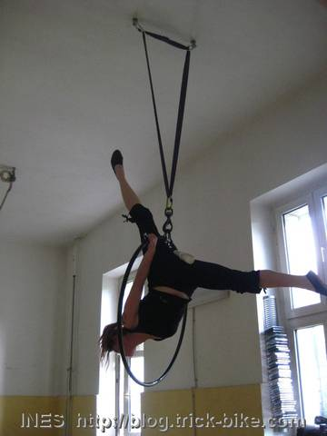 Tatjana in Aerial Ring