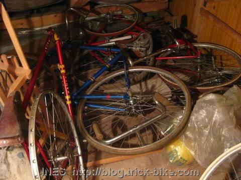 Vintage Trick Bike Pile