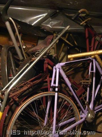 Pile of Weird Bikes